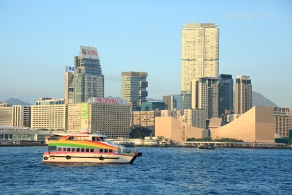 Rainbow Star Cruise_VIP boat at Victoria Harbour